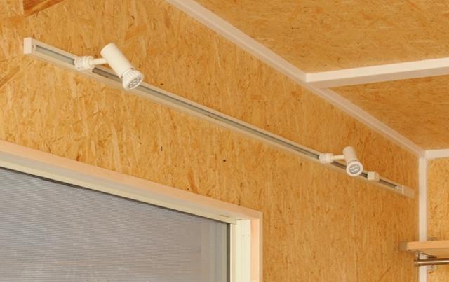 ライティングレール&LEDスポット